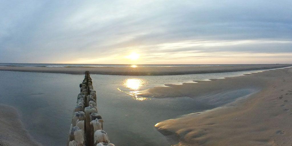 Abendsonne am Strand