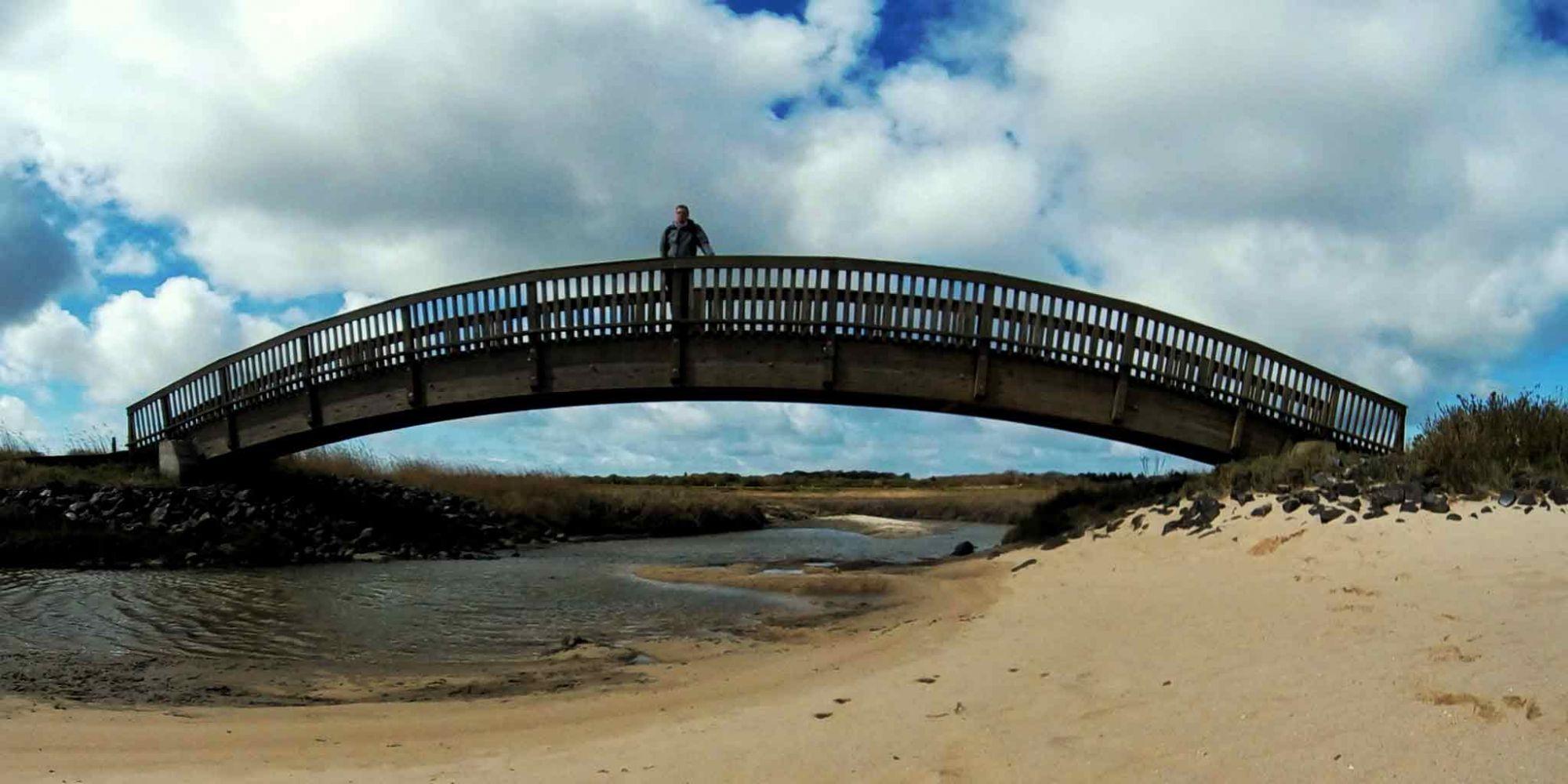 Lügenbrücke auf Sylt