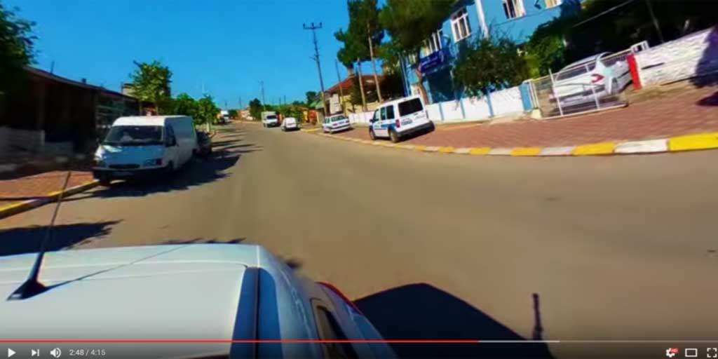 Von Malkoçlar nach Edirne in 360 Grad