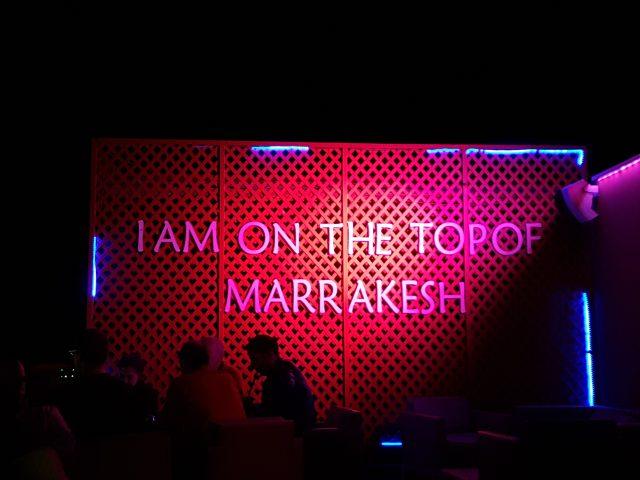 Abschied von Marrakesch