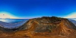 Blick vom Roten Kliff in Kamen auf Sylt - Sylt360