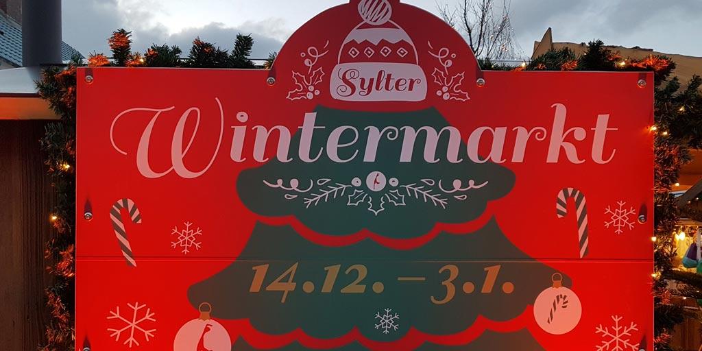 Wintermarkt Sylt in Westerland