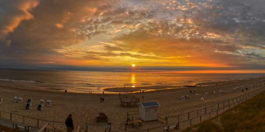 Sonnenuntergang an der Himmelsleiter